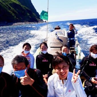 2021.4/16-18 御蔵島ドルフィンスイムツアー