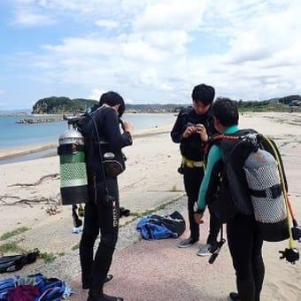 9月11日(土)PADIオープンウォーター講習!今日は3組に分かれて海洋講習!俺は、若い子グループ(笑)