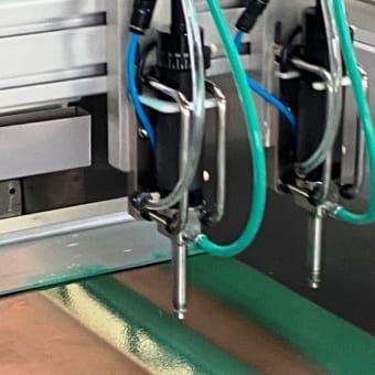 New spray coater development!