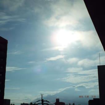 2019年07月25日(木) 晴れ? (京都行き = 京都市では、宵に、俄雨&雷鳴)