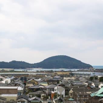 仁尾の街と大蔦島