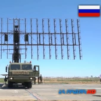 ロシア軍 NNIIRT Nebo-M 55ZH6M-航空監視レーダー複合体