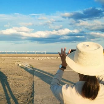 風にころがるTシャツ展~砂浜美術館レクチャー