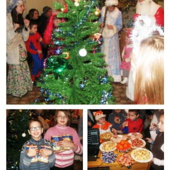 ベラルーシ 子どもたちのクリスマス会