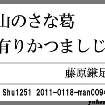 万葉短歌0094 玉櫛笥0078