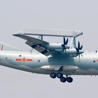 シナ 70年軍事パレードで天安門の上を飛んでいた・・・空警200(KJ-200)早期警戒機