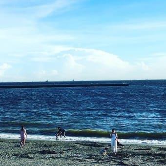 散歩@稲毛海岸