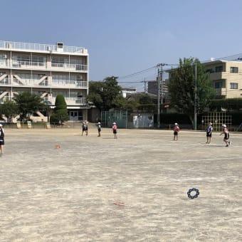 埼玉県戸田市の喜沢小学校でリングビーの出張授業