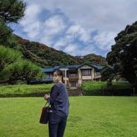 鎌倉文学館での小津安二郎展