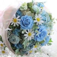 ♪ブルーローズの花束♪