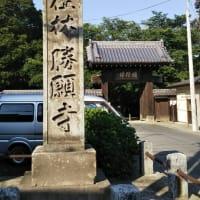 今朝は「長寿橋」を渡って、その後勝願寺で仁王像に願かける。午後は監査委員の初仕事