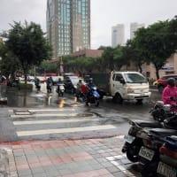 台北は今日も雨だった