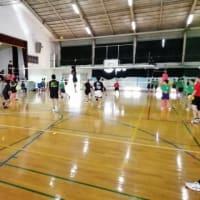 9月23日(月) 中学校練習会