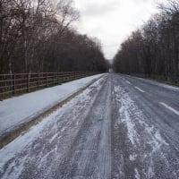 道路状況にご注意! Snow