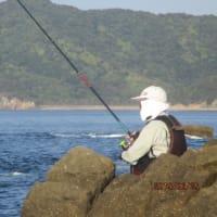 しばらく釣りを休もうか?。