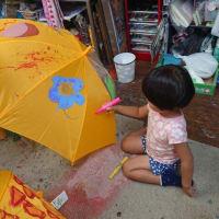 傘に絵を描こう 前橋校