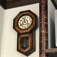 蕎麦屋・・振り子時計の音