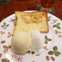 喫茶英國屋 期間限定 焼きシフォンケーキ