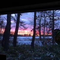 12月16日 冬の夜明け