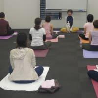 名古屋ワークショップ ツボ押しストレッチが導く瞑想法