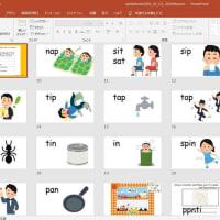 グループ1で習う6音で読めるようになる英単語