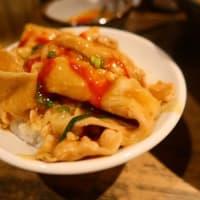 実之和@六本木 「赤いかれー麺 辛味別皿で」