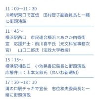 あさか由香(日本共産党参議院神奈川)7/19(金)街頭演説【転載】