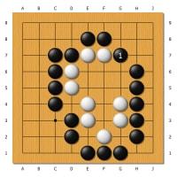 つれづれに 8 詰め碁らしい問題 2
