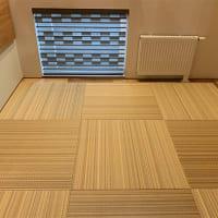 【リビングルーム床材にタタミ】