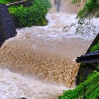 豪雨襲来-岐阜県郡上市:高畑温泉・湯之本館