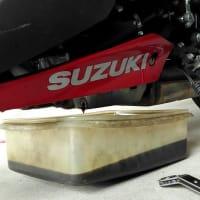 2020/03/14>GSX-S1000 エンジンオイル交換