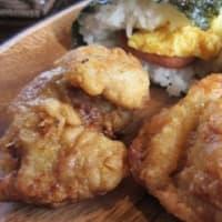 「沖縄タコス くくる」、ポーク卵おにぎりとチャビーチキンのセット、タコスとタコライスのセット