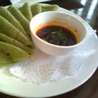 西安名物料理お勧め9ーー野菜チエンピン
