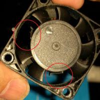 3Dプリンターの故障で交換したパーツ