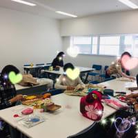 素敵な完成作品☆平日講座の様子は?!
