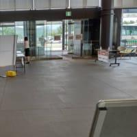 定期診察日で、奈良県総合医療センターです