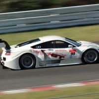GT500 公式テスト NSX-GT
