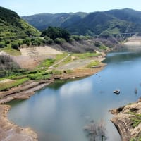 【現地報告】五ケ山ダム貯水率11%~試験湛水完了から7ヶ月