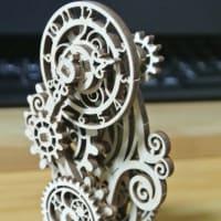 ユーギアーズ 木製組立立体パズル  Steampunk  Clock