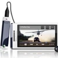 Sony Ericsson「Aino」セキュリティ携帯