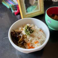 花咲ガニの炊き込みご飯