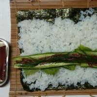 アンチョビの巻き寿司