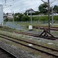 車止め 小海線 小淵沢駅& ハイレール星空号