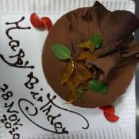自家製お誕生日ケーキ