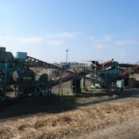 長浜のレットさんと橘と焼酎工場と砕石工場。