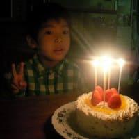 謙一郎 5歳誕生日