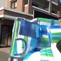 トミーバハマ TOMMY BAHAMA ビーチチェア、昨日、コストコで購入。でも。