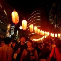 南新宿の祭り