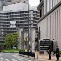 大阪梅田・阪急東交差点より