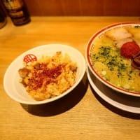 田中そば店@赤坂アークヒルズ 「山形辛味噌らーめん+特製肉めし(小)」